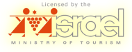 Licensed by the Israel Ministry of Tourism