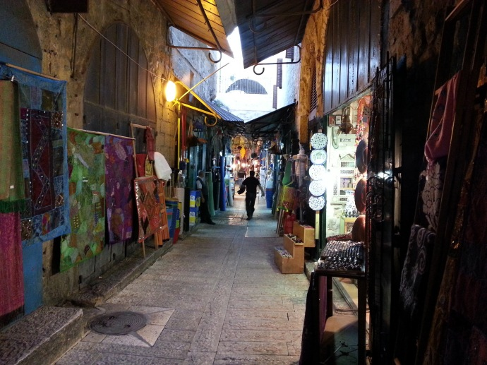 The Arab Market in the Old City of Jerusalem - Picture of the Day