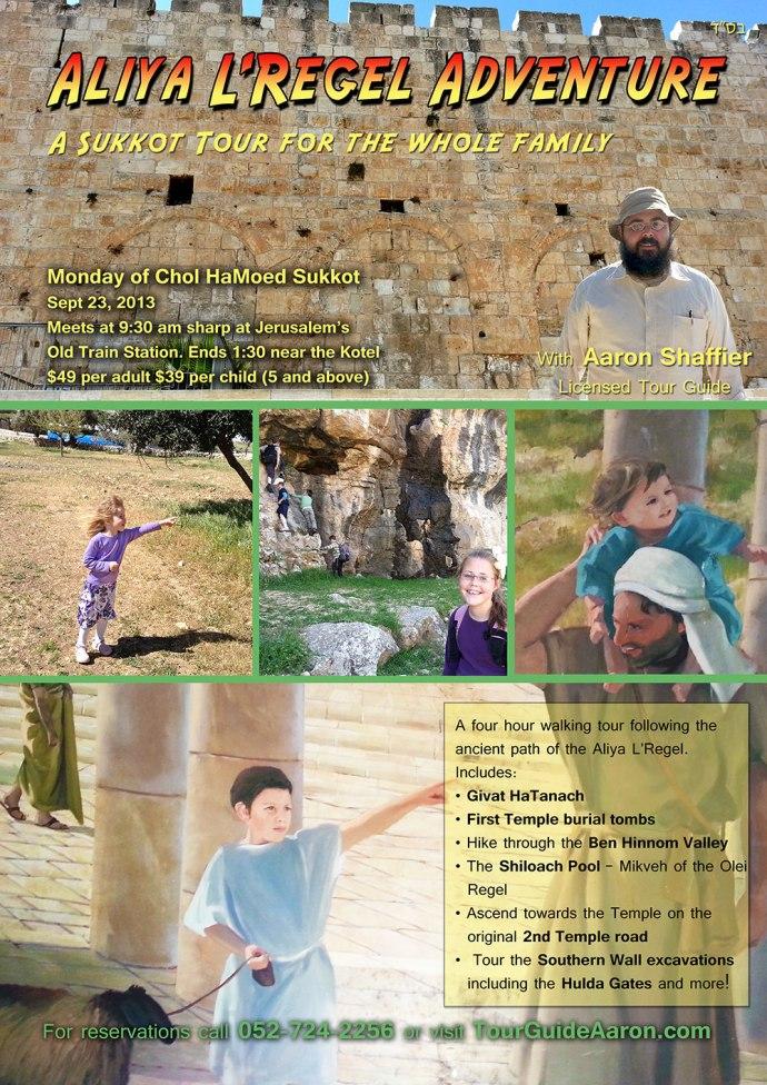 Chol Hamoed Sukkos Tour Jerusalem